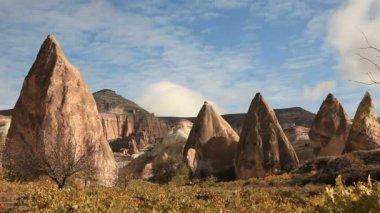 Time lapse Famous city  Cappadocia in Turkey — Stock Video