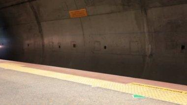 U-Bahnhof — Stockvideo