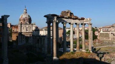 Roman Forum of Rome — Stock Video