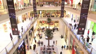 The Dubai Mall 2-5 — Stock Video