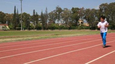 Track Practice — Stock Video