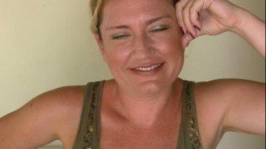 Femme flirter — Vidéo