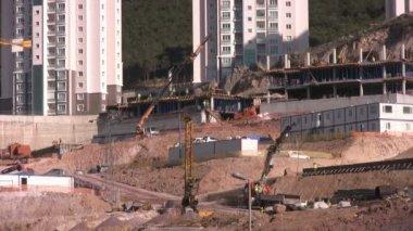 Construction zone — Stock Video