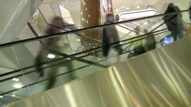 Shopping Mall Escalator   Full HD 1080p — Stock Video