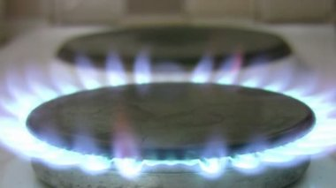 Gas Stove — Stock Video