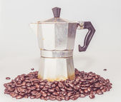 Coffee percolator — Stock Photo
