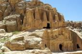 The long road to Petra. Jordan. — Stock Photo