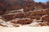 The ancient city of Petra. Jordan. — Stock Photo