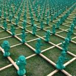 ������, ������: Art installation unit males