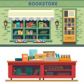 Books, science, knowledge — Stock Vector