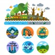 Ecological problems — Stock Vector #73527687