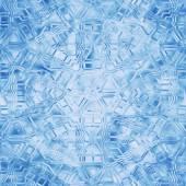 Sömlös vintern prydnad. Blå mönster med snöflingor. — Stockfoto