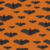 Bats pattern. — Stock Vector