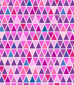 Seamless background with colorful triangles — Stock Vector