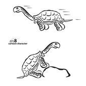 Turtle — Stock Vector