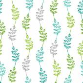 Seamless pattern of vintage leaves.  — Stockvektor
