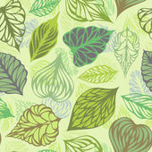 Vector seamless nature pattern.  — Stock Vector