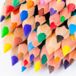 Set of colorful pencils on a white background — Stock Photo #73370327