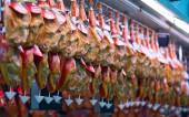 Ham at Central Market — Stock Photo