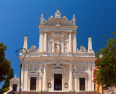 Church of Santuario di Nostra Signora della Lettera. — Stock Photo