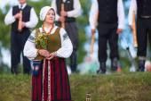 Saint Jonas' or Dew Holiday Festival. Klaipeda, Lithuania. — Stock Photo