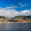 Port of Villefranche-Sur-Mer, South coast of France — Stock Photo #74682251