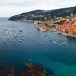 Port of Villefranche-Sur-Mer, South coast of France — Stock Photo #74682303