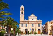 Chania ancient orthodox church. Crete. Greece. — Stock Photo