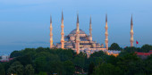 The Sultan Ahmed Mosque (Sultan Ahmet Camii). Turkey — Stock Photo