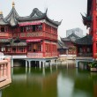 The City God Temple or Chenghuang Miao area, Shanghai — Stock Photo #76796245