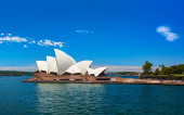 The Sydney Opera House is a multi-venue performing arts centre in Sydney. Australia — Stock Photo