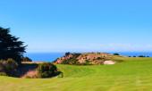Cape kaçıranlar golf sahası. Yeni Zelanda — Stok fotoğraf
