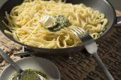Итальянская еда — Стоковое фото