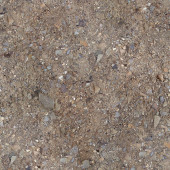 Ground with small stones — Stock Photo