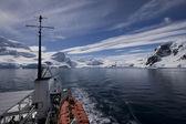 Geerlach Street, Antarctica — Stock Photo