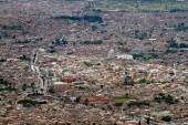 Aerial view of Bogota, Colombia — Stock Photo