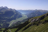 Haslital, valley in the Bernese Oberland — Stock Photo