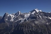 Eiger, Moench, Jungfrau in Switzerland — Stock Photo