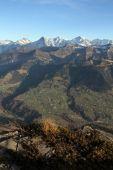 Bernese Oberland from Niesen — Stock Photo