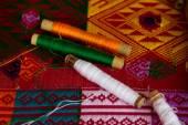 Thread Spool in different colors — Foto de Stock
