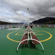 Deck of a ship view — Foto de Stock   #73380305