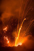 Volcano Yasur Eruption — Stock Photo