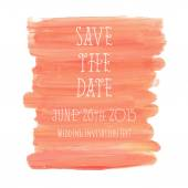 Save the Date texture background. — Stock Vector