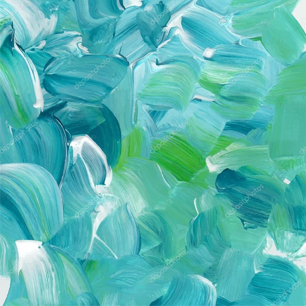 Textura de pintura color turquesa vector de stock for Pintura azul turquesa