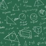 Hand drawn geometry formulas — Stock Vector #74228523