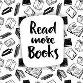 VaV více knih — Stock vektor