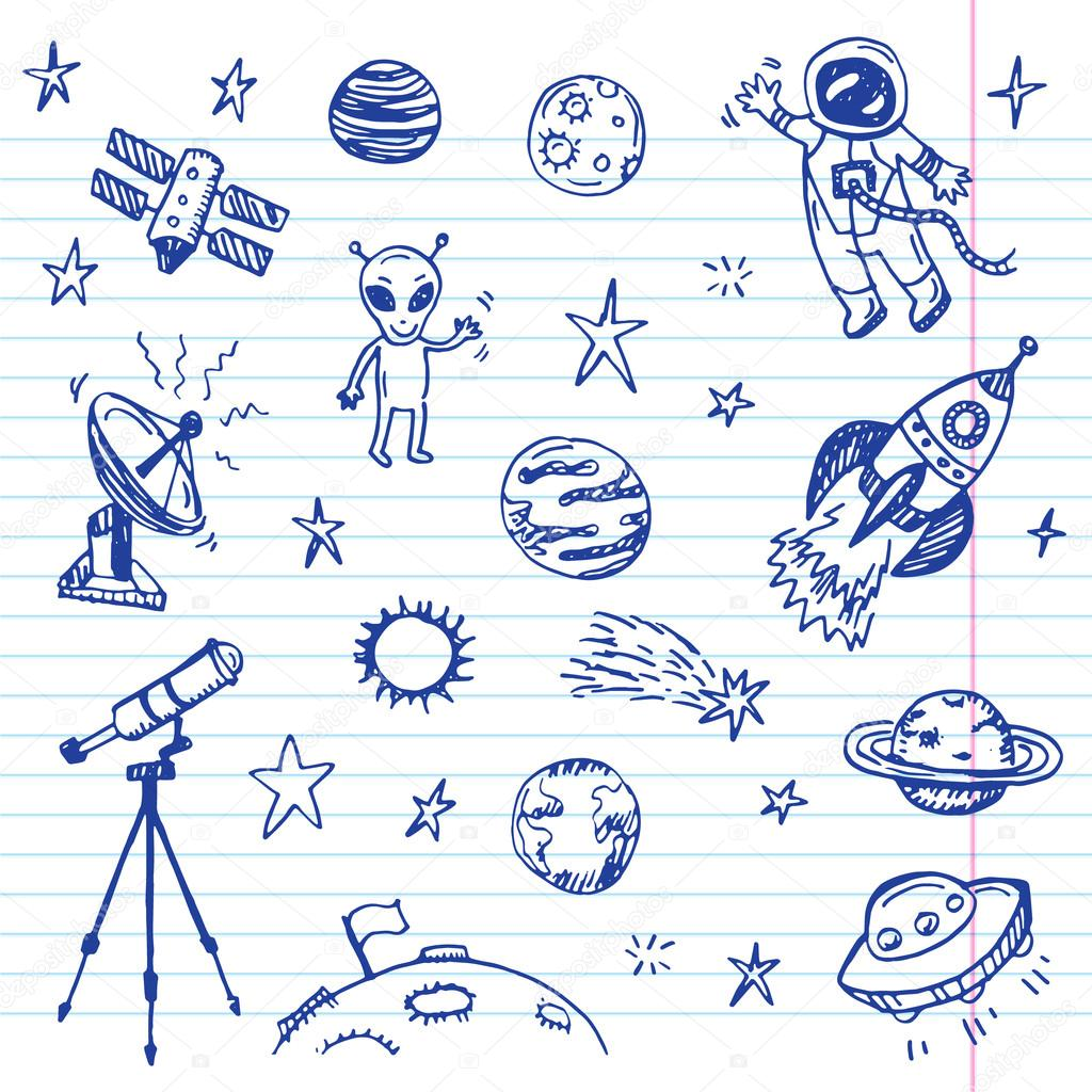 astronomy doodles - photo #8
