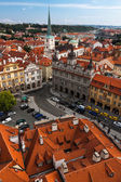 Aerial view of Prague — Stock Photo