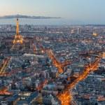 Skyline of Paris at night — Stock Photo #73913323