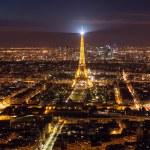 Skyline of Paris at night — Stock Photo #73913451